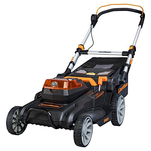 Lawnmaster 19 in. 60-Volt Brushless Lithium-Ion Cordless Battery Walk Behind Push Mower with 5.0 Ah Battery by LawnMaster