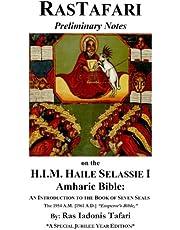 Rastafari Notes & H.I.M. Haile Selassie Amharic Bible