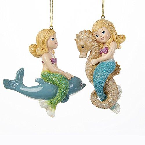 51cDBnxZuhL Amazing Mermaid Christmas Ornaments