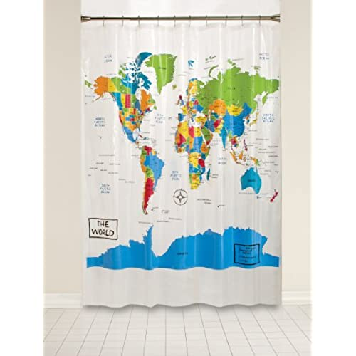 Geek shower curtain amazon saturday knight the world peva shower curtain gumiabroncs Image collections