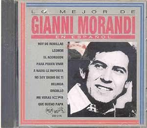 Lo mejor de Gianni Morandi en espanol