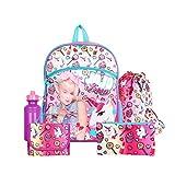 "Toys : Nickelodeon JoJo Siwa Pink 16"" Backpack School Essentials Set for Girls"