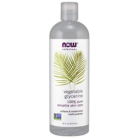 Now Solutions, Vegetable Glycerin, 100 Percents Pure, Versatile Skin Care, Softening And Moisturizing, 16 Ounce by Now Foods