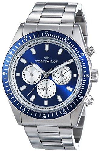 TOM TAILOR Herren-Armbanduhr Analog Quarz Edelstahl 5414203