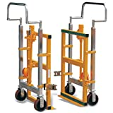 I-lift Equipment Hu-Lift FM180B Steel Hydraulic Furniture Mover, 3960 Lbs. Capacity, 26.8-Inch Length X 16.5-Inch Width X 42-Inch Height (Set of 2)