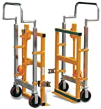 Hu-Lift FM180B Steel Hydraulic Furniture Mover, 3960 lbs Capacity, 26.8'' Length x 16.5'' Width x 42'' Height (Set of 2)