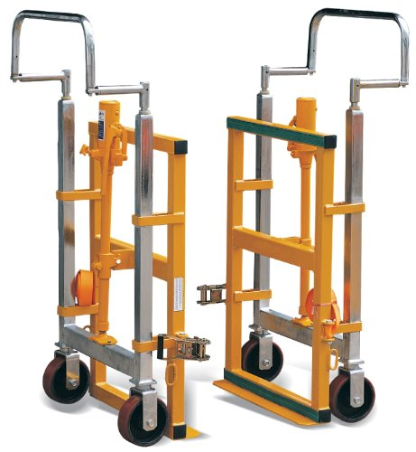 Hu-Lift FM180B Steel Hydraulic Furniture Mover, 3960 lbs Capacity, 26.8'' Length x 16.5'' Width x 42'' Height (Set of 2) by i-Lift Equipment