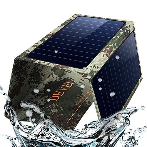 Soyond Foldable Solar Panel Phone Charger Dual USB Solar