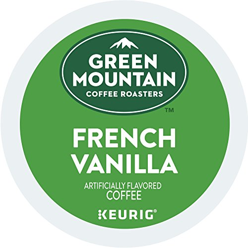 Green Mountain Coffee Roasters Keurig Single-Serve K-Cup Pods, French Vanilla Light Roast Coffee, 72 Count (6 Boxes of 12 Pods)
