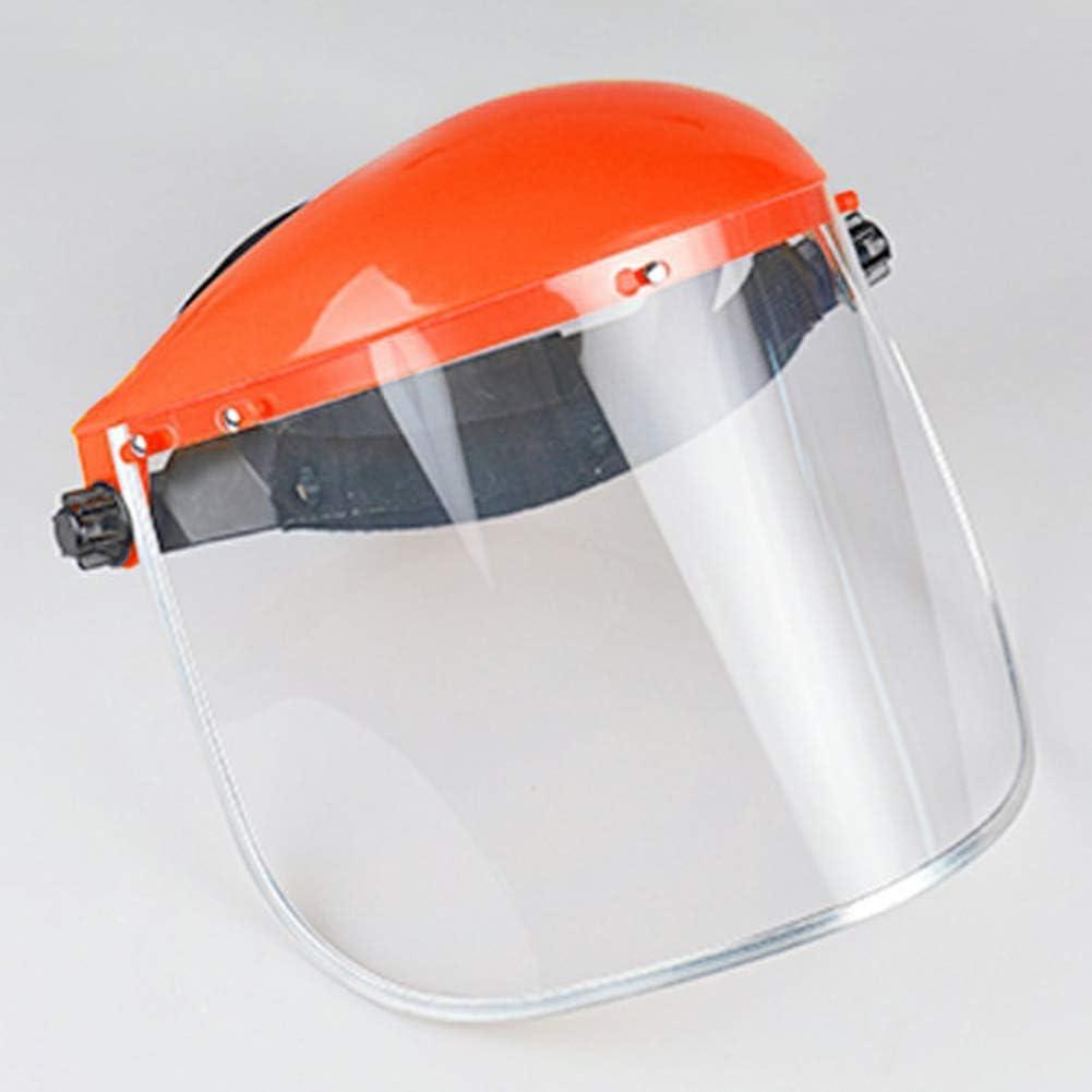 FEIDAjdzf Protector facial, mascarilla protectora de seguridad transparente para la cabeza, protector de pantalla