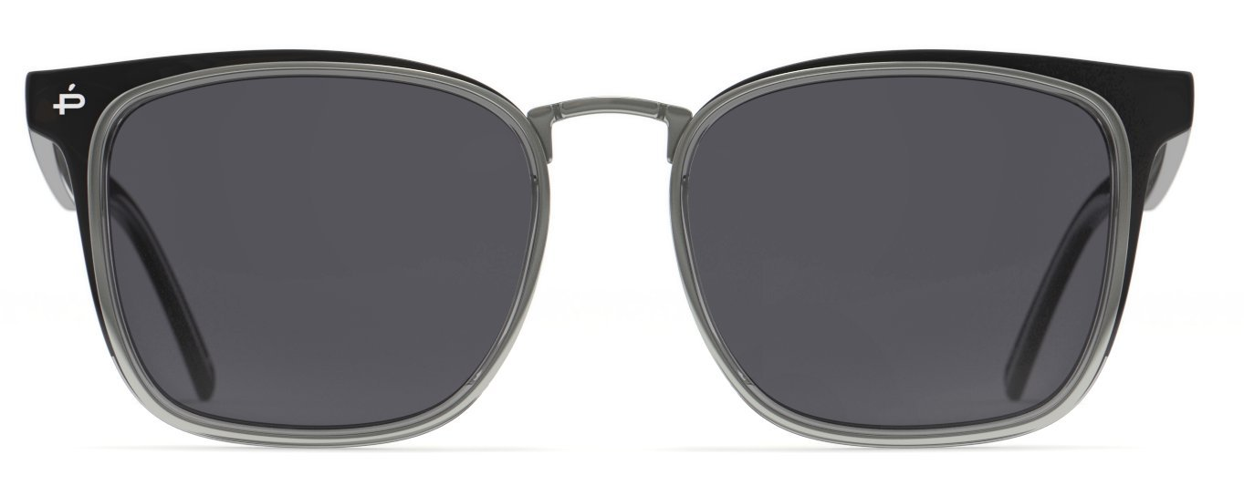 PRIVÉ REVAUX Places We Love Collection''The O.H.I.O'' Polarized Handcrafted Designer Square Sunglasses
