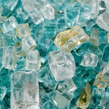 Mosaic Fire Glass - Rodeo Drive (sold in 10 lb bags) (Rodeo Mosaic)