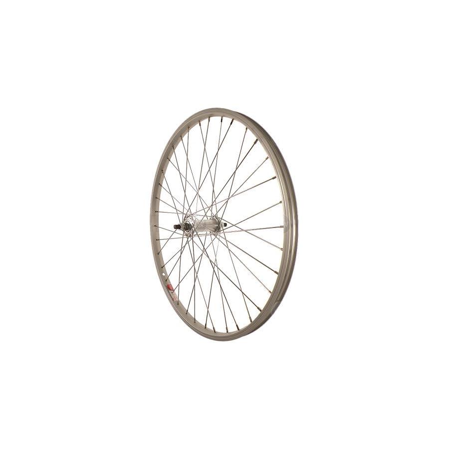 Sta Tru Silver ST1 36H Rim Front Wheel (24X1.5 Inch)