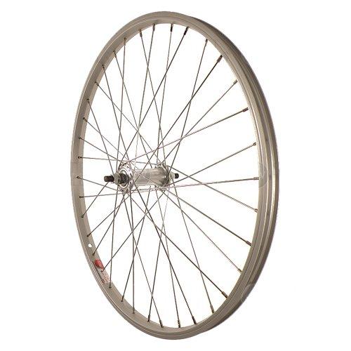 Sta-Tru Silver ST1 36H Rim Front Wheel (24X1.5-Inch)