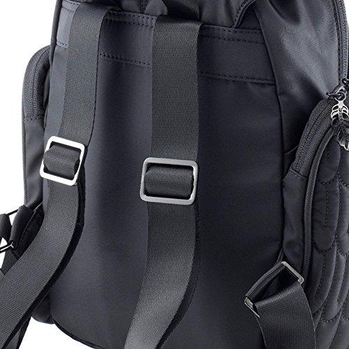 Morn Creations ow-306Eule Fashion typische Eule Damen Rucksack Magenta (125) Black (900)