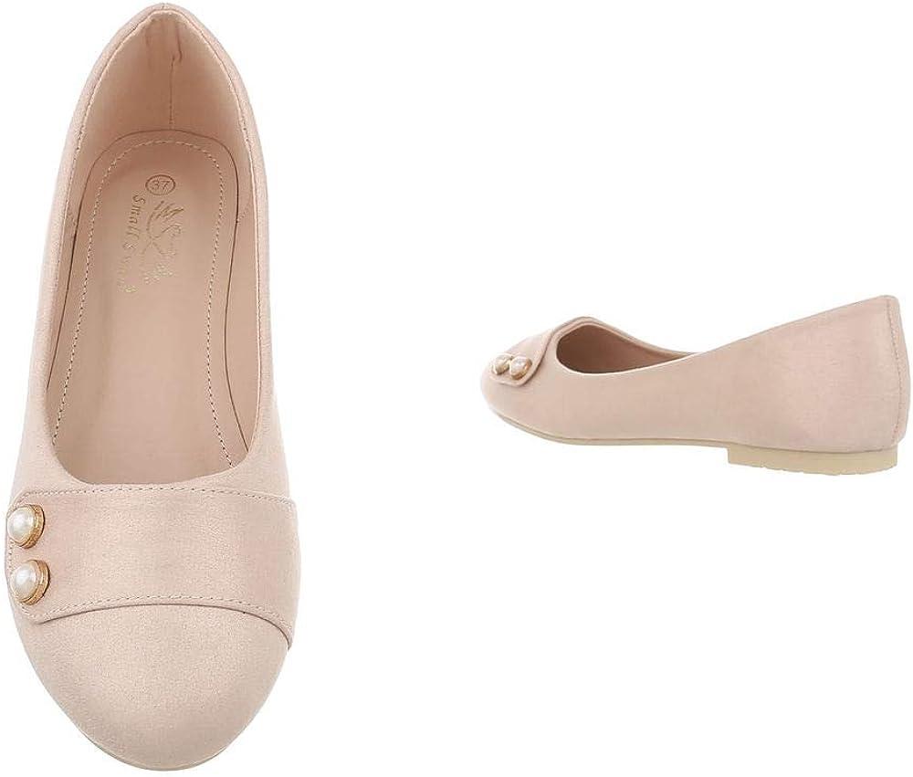 Ital-Design Damenschuhe Ballerinas Klassische Ballerinas