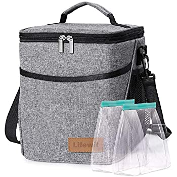 Amazon.com : Lifewit Lunch Bag 23L (29-Can), Insulated ...