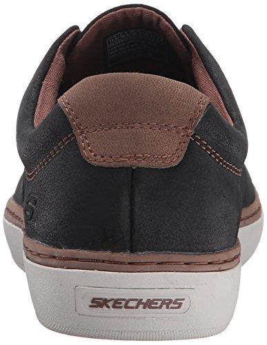Skechers Herren Palen Alesco Sneaker Black Leather