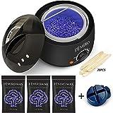 Waxing Kit, Femiro Wax Warmer Painless Hair Removal Wax Kit with 4 Bags