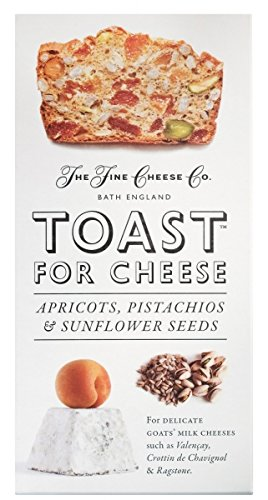 Toast for Cheese by the Fine Cheese Co - Apricots and Pistachios (3.2 ounce)