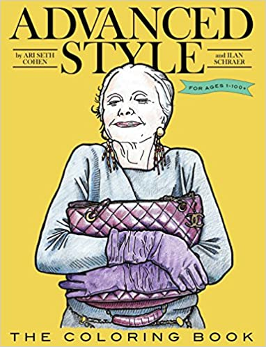 Amazon.com: Advanced Style The Coloring Book (9781576876633): Ari ...