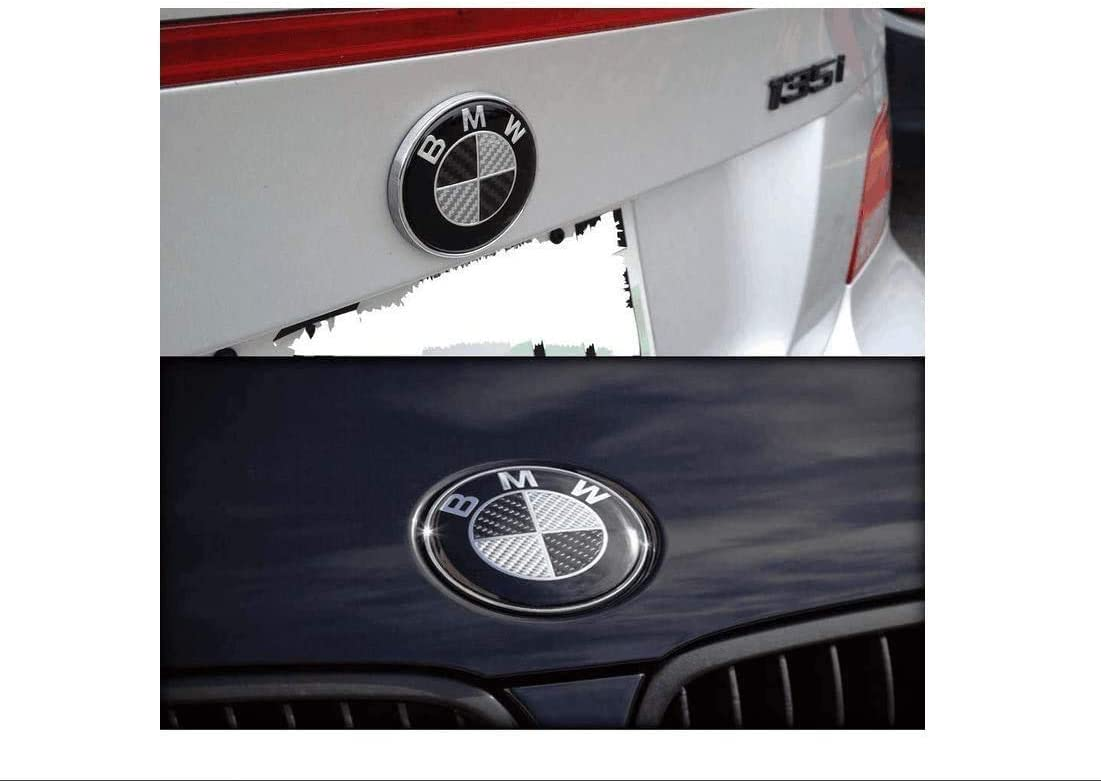 Black+Red Hub Caps Aocoti 4Pcs B-M-W 68mm Rim Center Hub Caps for All Models with B M W Wheels Logo.