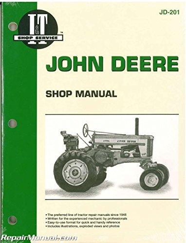 JD-201 John Deere 720 730 40 320 330 420 430 440 80 820 830 435D 4401D Tractor Manual