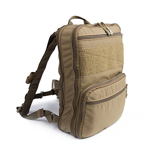 Haley Strategic Partners D3 Flatpack PLUS With Chest Strap Backpack Assault Pack Made In The USA (Coyote)