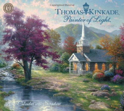 (Thomas Kinkade Painter of Light with Scripture: 2010 Wall Calendar)