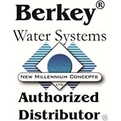 Imperial Berkey Water Filter Premium 4.5 Gallon Bundle: 2 Black BB9 Filters, 2 Fluoride PF2 Filters, 1 Stainless Steel Water Bottle