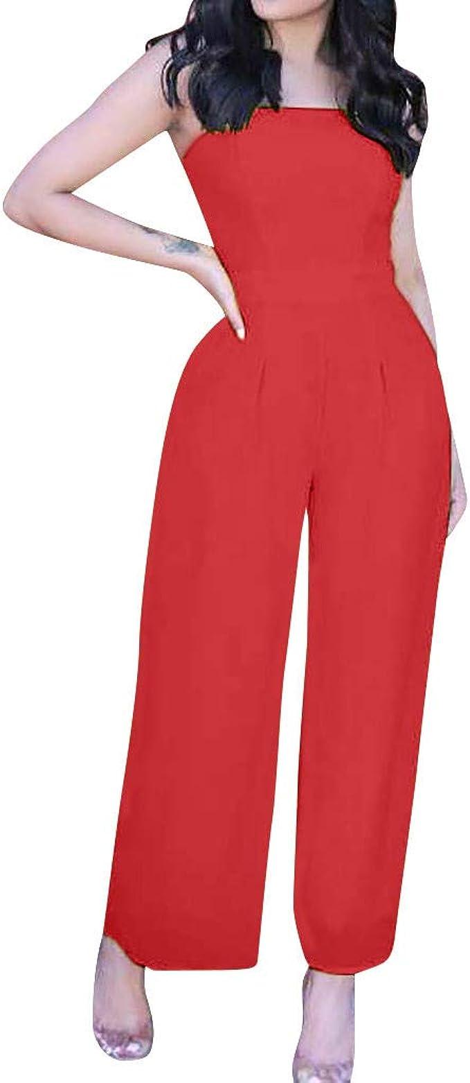 Belted zipped pants jumpsuit