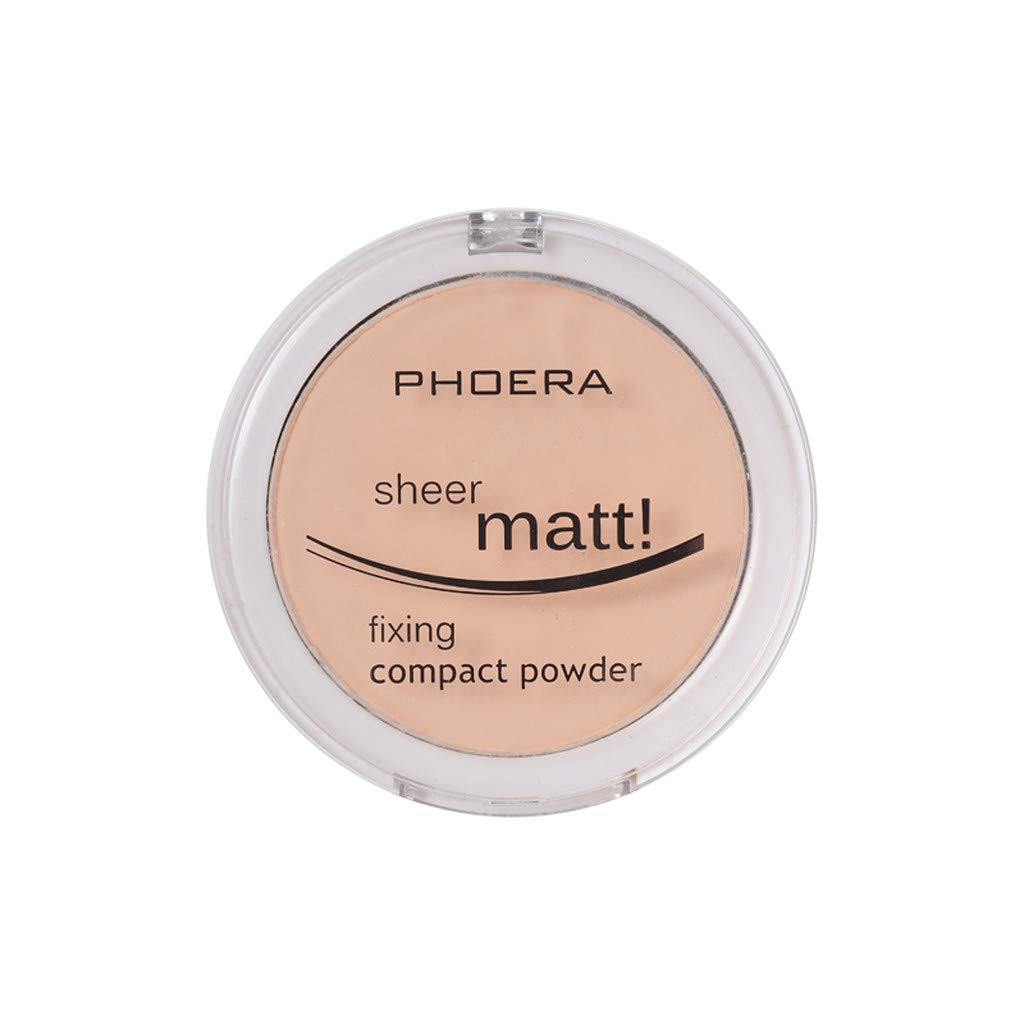 Hot Dream_mimi Powder concealer matte pearl powder powder 8 colors, ladies beauty cushion liquid foundation (B) by Dream_mimi (Image #1)