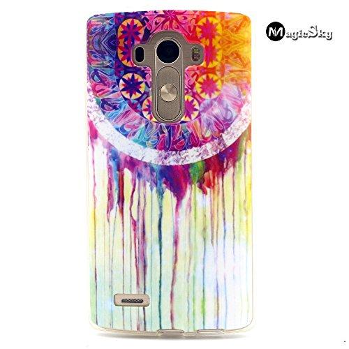 LG G3 mini Case, *No Chip/No Peel*, Magicsky Graffiti Pattern Flexible Slim Snap On Bumper TPU Case Cover for LG G3 mini