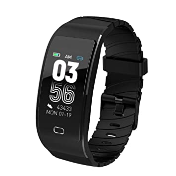 Amazon.com: XYBW Fitness Tracker with Heart Rate Detector ...