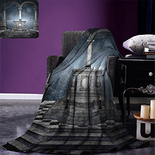 smallbeefly Gothic Digital Printing Blanket Altar on Checker