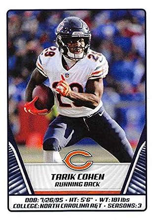competitive price 748f4 4ef06 Amazon.com: 2019 Panini NFL Sticker #357 Tarik Cohen Chicago ...
