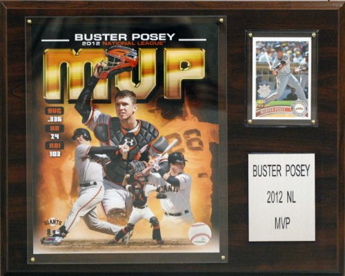(MLB San Francisco Giants Buster Posey 2012 MVP Player Plaque)