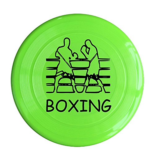 Frisbee Fighting Boxers Boxing Fight Pet's Safe Plastic Frisbee Flying Saucer Flying Disc Sport Disc Fun Flyer (Fun Boxers Sports Ball)