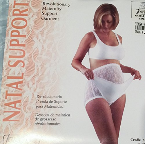 Jeunique Cradle n Lace II Maternity Prenatal Natal Support Garment and Girdle (Jr Petite Sizes 1-3) - Jr Girdle