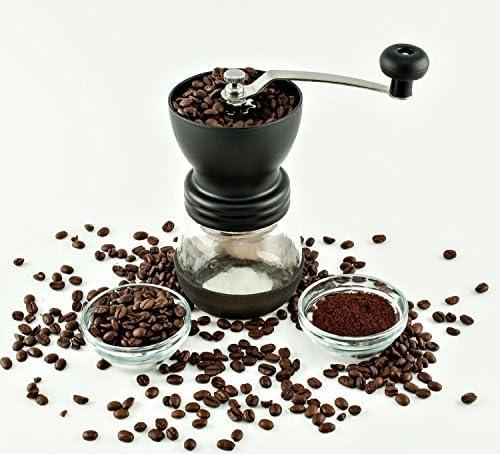 Tanors Manual Ceramic Burr Coffee Grinder Mill