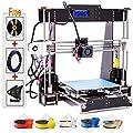 3D Printer, Trovole A8-W5 Pro DIY LCD Screen Desktop 3D Printer Kit with 1.75mm ABS/PLA Printer Filament?Build Size 220×220×240mm?