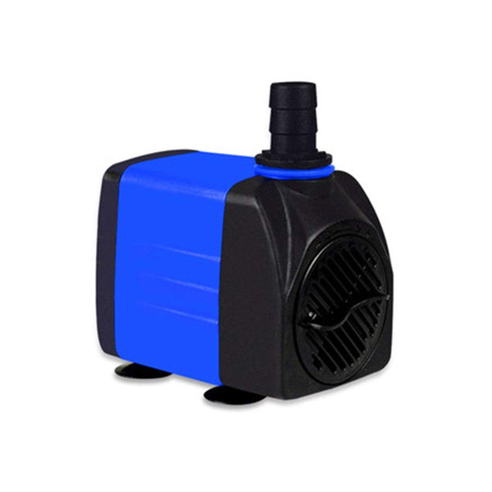 LIFUREN Fish Tank Oxygen Pump Submersible Pump Aquarium Pump Mute Filter Pump Household Energy Saving (Color : Blue, Size : 20W)