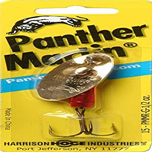 Panther martin fishing lure spinner gold and for Amazon fishing spinners