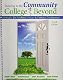 Thriving in the Community College AND Beyond: Strategies for Academic Success and Personal Development 2nd edition by Cuseo et al (2014) Spiral-bound