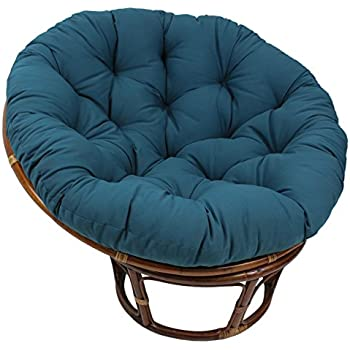 Amazon Com Blazing Needles Solid Twill Papasan Chair