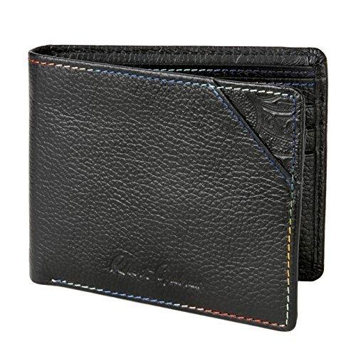 Robert Graham Men's Birch Passcase Wallet, Black, One Size