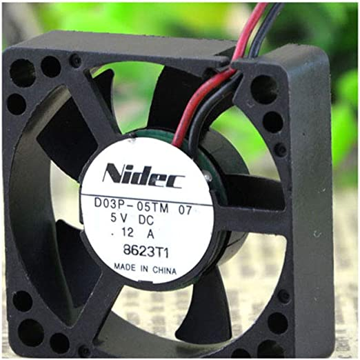 Cytom for nidec 3510 D03P-05TM 07 5V 0.12A 3.5CM Cooling Fan 353510MM