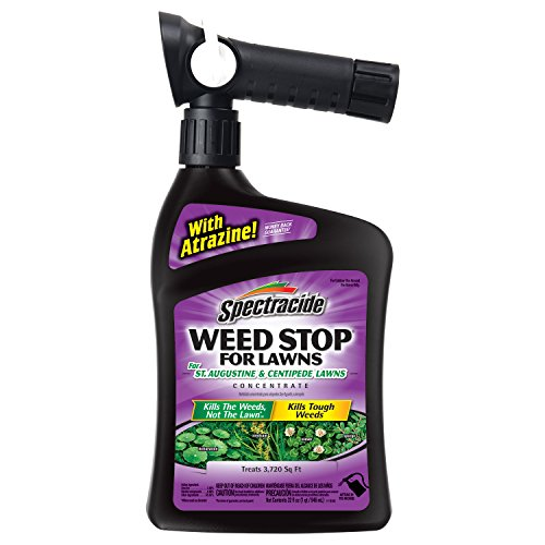Spectracide Weed Stop For Lawns For St. Augustine & Centipede Lawns Concentrate, Ready-to-Spray, 32-Ounce, 6-Pack (Best Post Emergent Herbicide For Centipede)