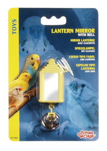 Living World Lantern Mirror with Bell ()