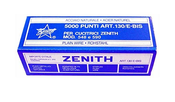 "20 Boxes of 1,000 Zenith 130//E 5//32/"" Light Wire Staple For 548//E Staplers"